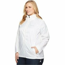 Columbia Women's NWT Plus Size Lightweight Windbreaker Rain Jacket - $41.58