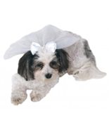 Pet Shop Boutique Animal Wedding Veil Sz S/M, M/L New - $6.99