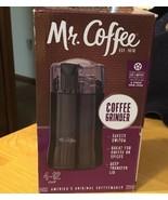 Mr. Coffee Electric Coffee Bean Grinder, Black - $11.29