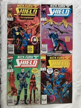 Nick Fury Agent Of SHIELD Marvel Comic Books #10 #11 #12 #16 1990 - $20.00
