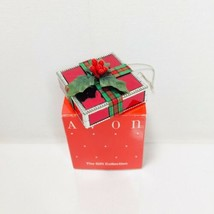 Avon All Wrapped Up For Christmas Ornament Square - $9.49