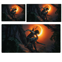 Rise Of Tomb Raider Lara Moon Extended Mouse Pad Computer Desk Pad Three... - $247,92 MXN+