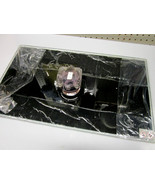 Samsung TV Stand Tempered Glass Base BN96-16847A Neck BN61-06998X NEW - $90.00