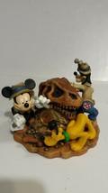 Disney Animal Kingdom Mickey Pluto Goofy Clock Big Dig In Boneyard - $25.49