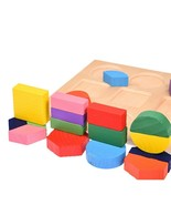 Toys Puzzle Game Learning Education 3d Wooden Maze Montessori Board Teas... - $5.89+