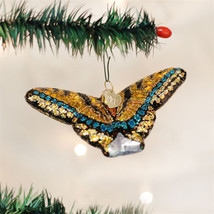 Swallowtail Butterfly Glass Ornament - $21.95