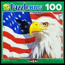100 Piece Jigsaw Puzzle by Puzzlebug 9 in x 11 in, The American Eagle - $4.99