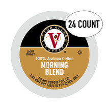 Victor Allen Coffee, Morning Blend Keurig Compatible Single Serve Cups, 24 Ct - $29.77
