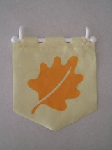 Fisher Price Loving Family Dollhouse Dream Seasonal Flag Autumn Fall - $2.96