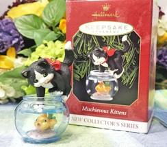 Hallmark MIschievous Kittens 1999 ornament - $59.75
