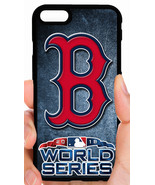 BOSTON RED SOX WORLD SERIES PHONE CASE FOR iPHONE XS MAX X 8 7 6 6 PLUS ... - $14.97