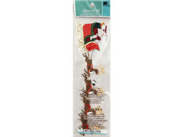 Jolee's By You Sleigh and Reindeer Dimensional Sticker #JJCB034D image 2