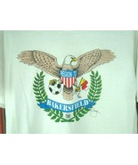 Vtg Soccer T-shirt tee AYSO Bakersfield Ca Region 73 Eagle Crest Sz M U... - $24.70