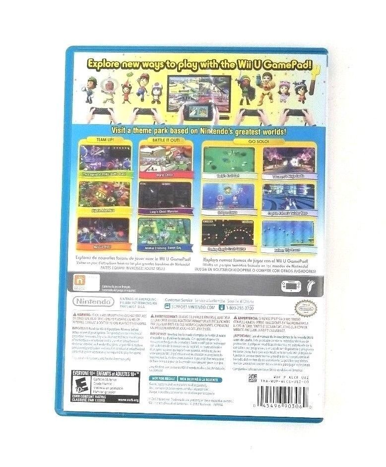 Wii Nintendo Land Wii System Game Nintendo Network Game and Instruction Manual
