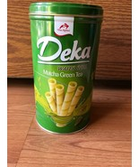 Deka Matcha Green Tea Wafer Roll NEW 300g (Limited) 1box - $9.89