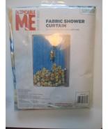 Nuovo Cattivissimo Me Minion Tessuto Tenda Doccia 72 x 72 CM - $16.86