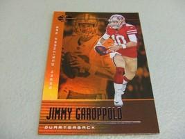 2019 Panini Illusions Trophy Collection Orange #15 Jimmy Garoppolo -SF 4... - $3.12