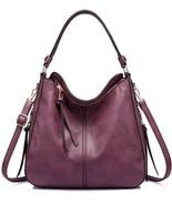 Handbag For Women Large Designer Ladies Hobo Bag Bucket Purse Faux Leath... - $116.32