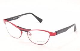 New Authentic Alain Mikli Eyeglasses AL1220 MOB7 Red Black Metal Plastic France - $186.92