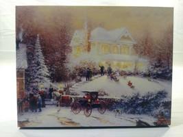 Springbok Thomas Kinkade 500 Puzzle Painter Of Light Victorian Christmas Ii 1996 - $5.80