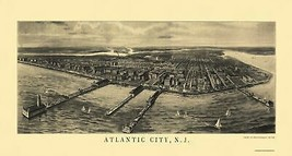Atlantic City New Jersey - National Pub Co 1905 - 43 x 23 - $36.58+