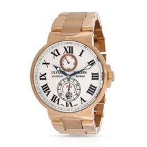 Ulysse Nardin Maxi Marine 266-67 Men's Watch in 18kt Yellow Gold - $20,600.00