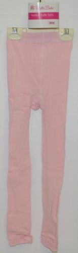 RuffleButts PLKP141T0000 Pink Ruffled Tights Size 4T to 6