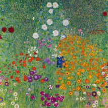 "Gustav Klimt ""Blumengarten,1907"" NEW HD print on canvas huge wall pictur... - $29.69"