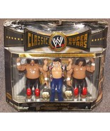 2006 WWE Classic Superstars Lou Albano & The Wild Samoans 3 Pack Figure ... - $79.99
