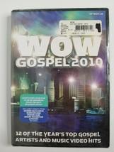 WOW GOSPEL 2010 Music DVD NEW! Donnie McClurkin Byron Cage Marvin Sapp M... - $7.99