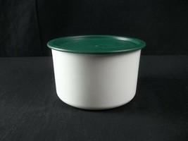 Tupperware One Touch Canister 2709 Green Lid C - $11.83