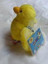 ganz webkinz lil kinz yellow canary bird plush w Code Card • Used Doll Toy Cute image 6