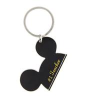 Walt Disney World Mickey Mouse Ears #1 Teacher Metal Keychain NEW - $16.90