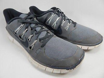 Nike Free 5.0 + Men's Running Shoes Size US 14 M (D) EU 48.5 Gray 579959-001