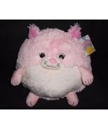 """Squishable Pink Kitty Cat Plush Stuffed Animal Round Ball White 14"""" Kitten - $26.61"""
