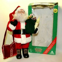 Vintage Holiday Creations Animated Santa Holiday Figure Poseable Arms 19... - $64.35
