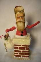 Vintage Inspired Spun Cotton, Chimney Santa, no. 89A image 1
