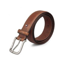 Tommy Hilfiger Men's Premium 35MM Leather Casual Belt Brown 11TL02X038 image 2