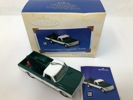 New 2003 Christmas Hallmark Keepsake Ornament 1972 Chevrolet Cheyenne Super - $19.34