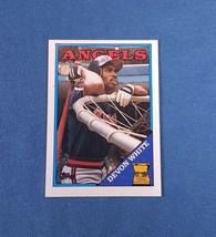 1988 - TOPPS - #192 - Devon White - $0.25