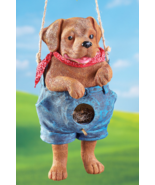 Blue Jean Puppy Birdhouse   - $21.95