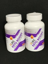 2 Month Supply Pure Keto Boost Diet Pills BHB Ketogenic Weight Loss 1050mg - $14.84