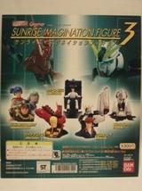BANDAI Gashapon HG series Gundam Sunrise Imagination figure 3 from Japan - $189.98