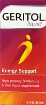 Geritol Liquid Energy Support,  High Potency B-Vitamin & Iron Liquid Sup... - $32.26