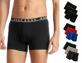 Hugo Boss Men's Natural Pure Cotton 3 Pack Underwear Boxers Trunks