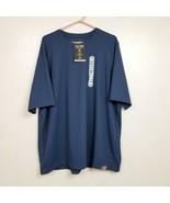 Alaskan Hardgear Duluth Trading Co Mens Wildwick Shirt 2XL XXL Blue NWT ... - $29.88