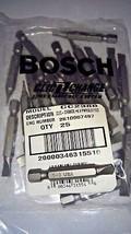 Bosch CC2386 #6 -8 Slotted Power Screw Bit Tips 25pcs. USA - $3.96