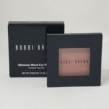 New Bobbi Brown Shimmer Wash Eye Shadow Full Size Rose Gold  - $32.71