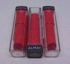 Lot of 3 ALMAY Smart Shade Butter Kiss Lipstick No.80 Red Light Md 0.09o... - $9.11