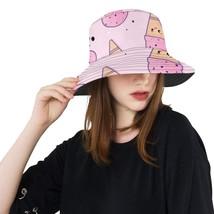 Ice Cream Summer Pattern Fashion Fishing Sun Bucket Hats - $27.00